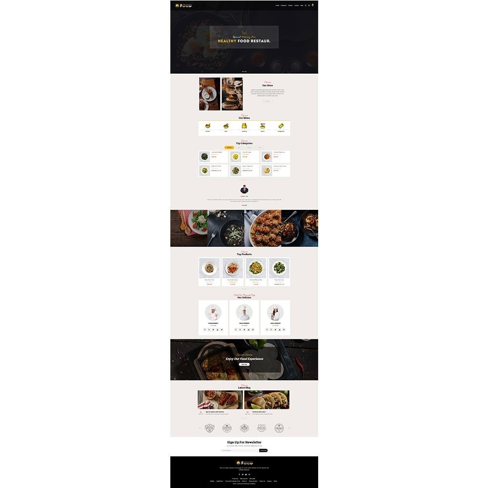 theme - Food & Restaurant - Restro Food Store - 2
