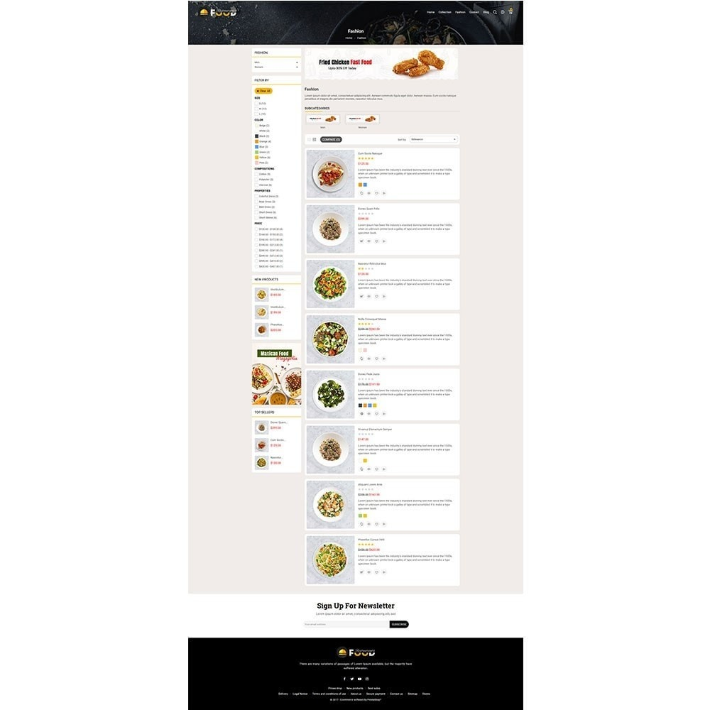 theme - Food & Restaurant - Restro Food Store - 4