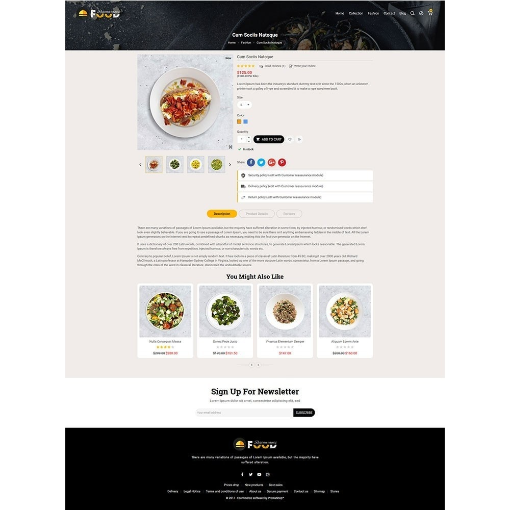 theme - Food & Restaurant - Restro Food Store - 5
