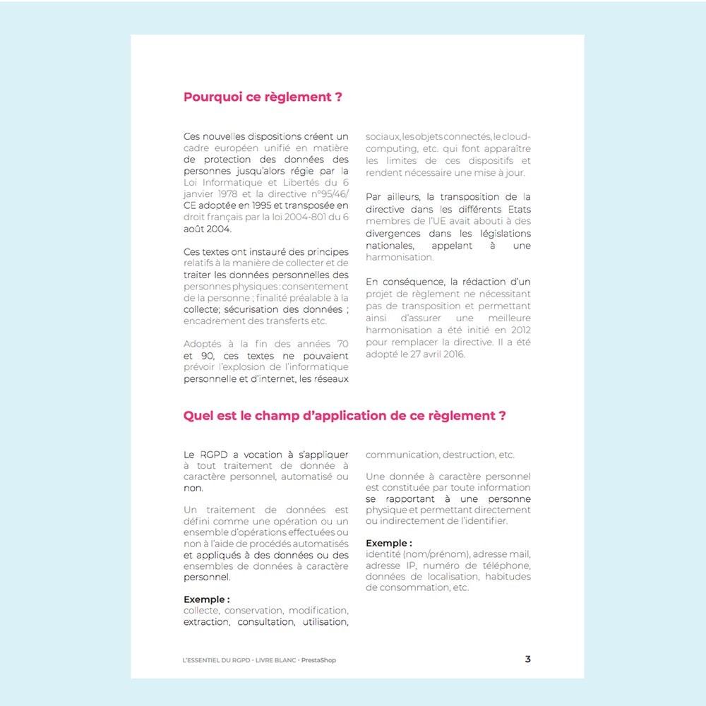 other - Modules gratuits PrestaShop - Livre blanc RGPD - 2