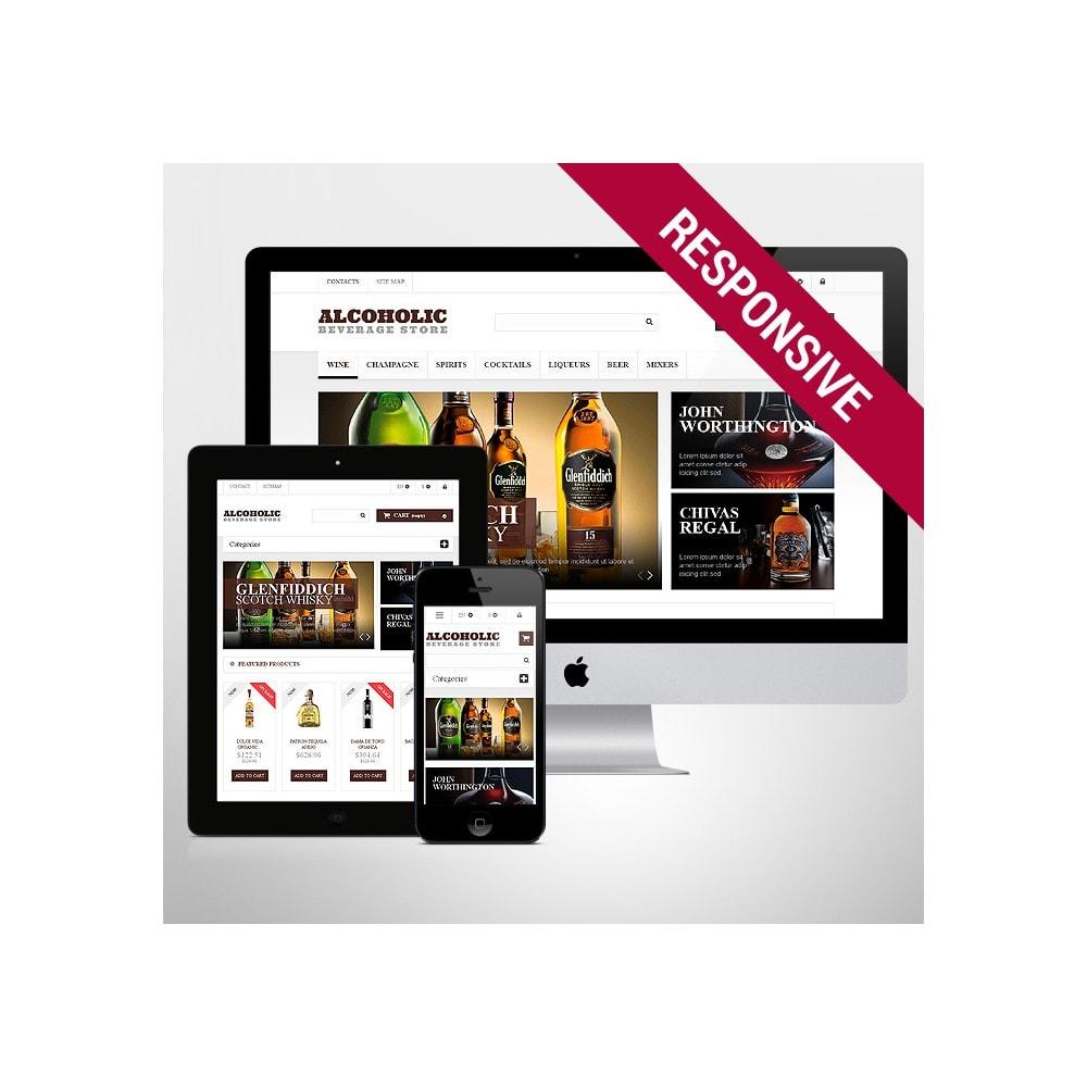 theme - Alimentation & Restauration - Alcoholic Beverages Market - 1
