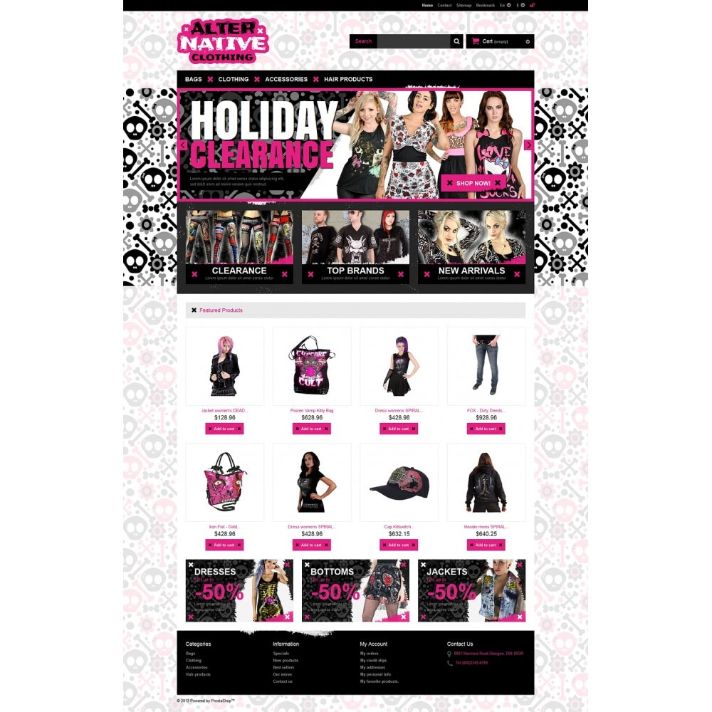 theme - Mode & Chaussures - Alternative Clothing Store - 2