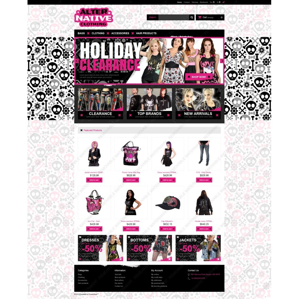 theme - Mode & Chaussures - Alternative Clothing Store - 5