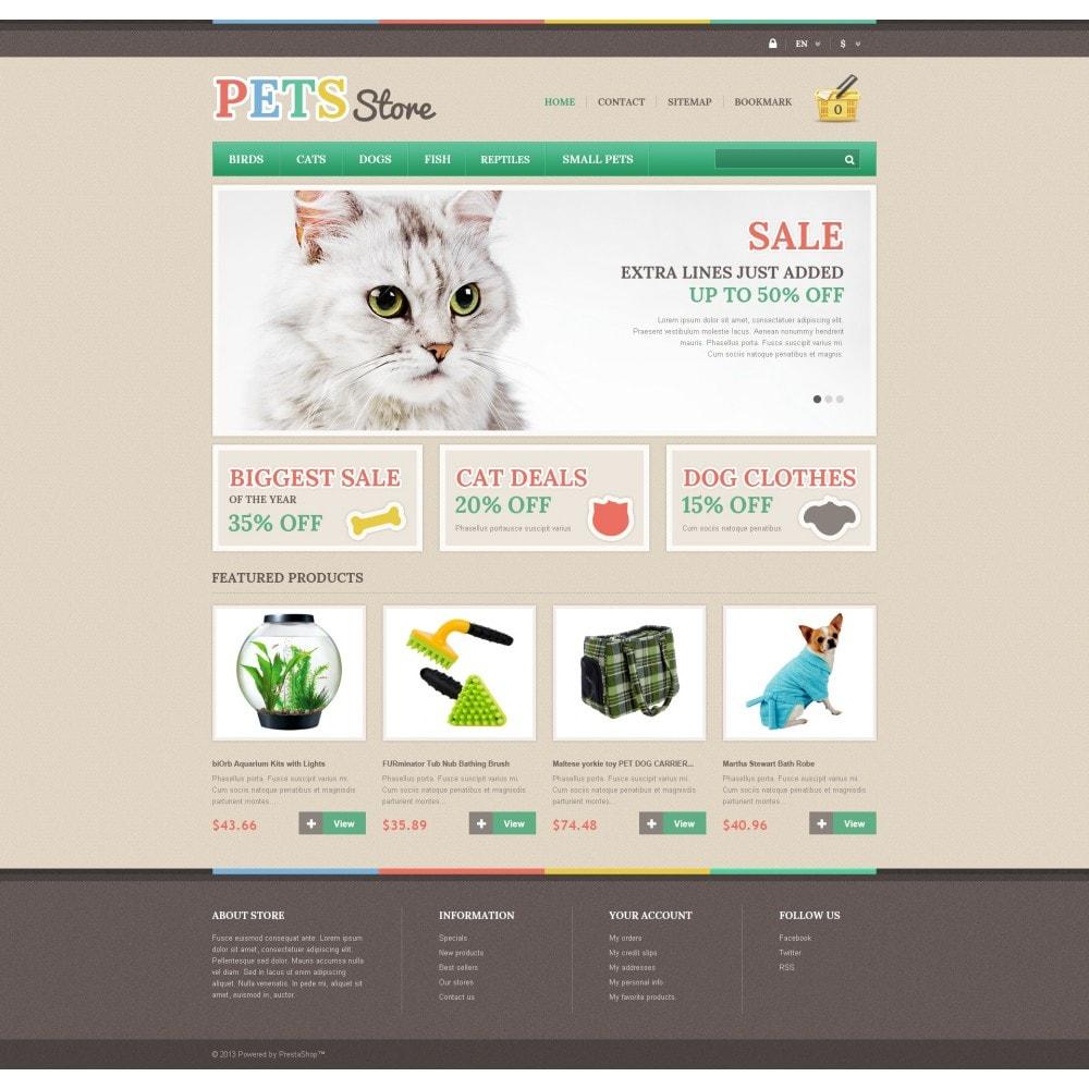 theme - Животные и домашние питомцы - Responsive Pets Store - 4