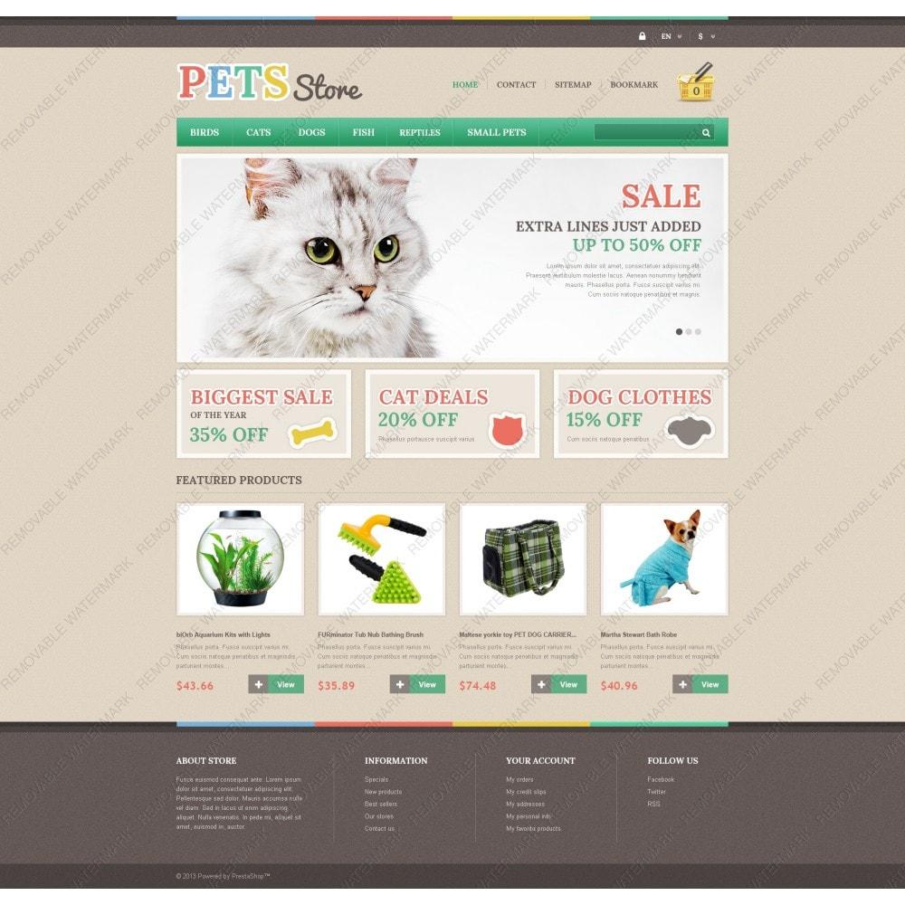 theme - Животные и домашние питомцы - Responsive Pets Store - 5