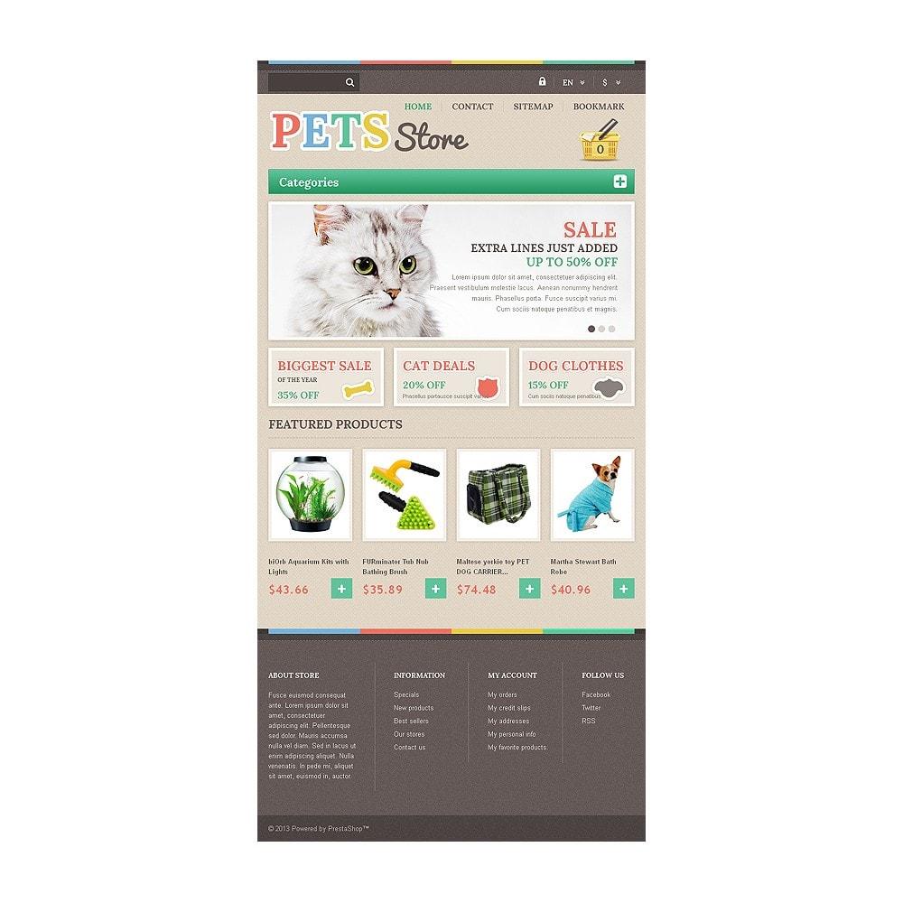 theme - Животные и домашние питомцы - Responsive Pets Store - 7
