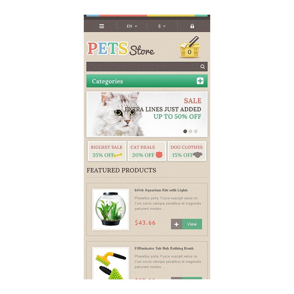 theme - Животные и домашние питомцы - Responsive Pets Store - 8