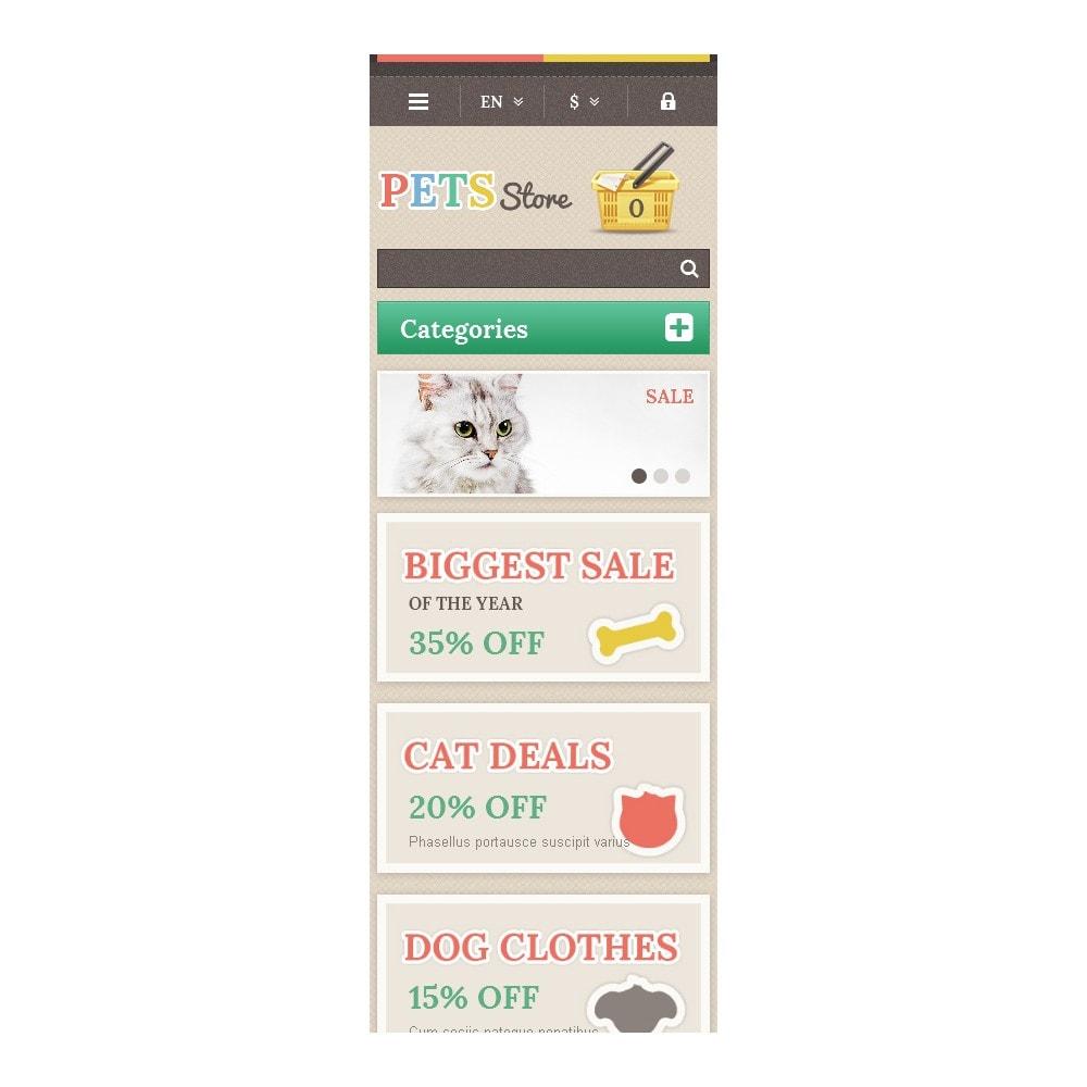 theme - Животные и домашние питомцы - Responsive Pets Store - 9