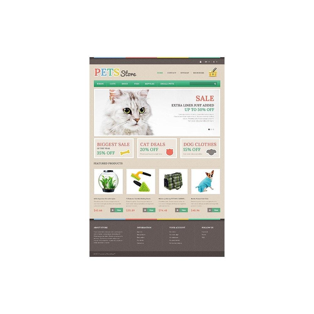 theme - Животные и домашние питомцы - Responsive Pets Store - 10