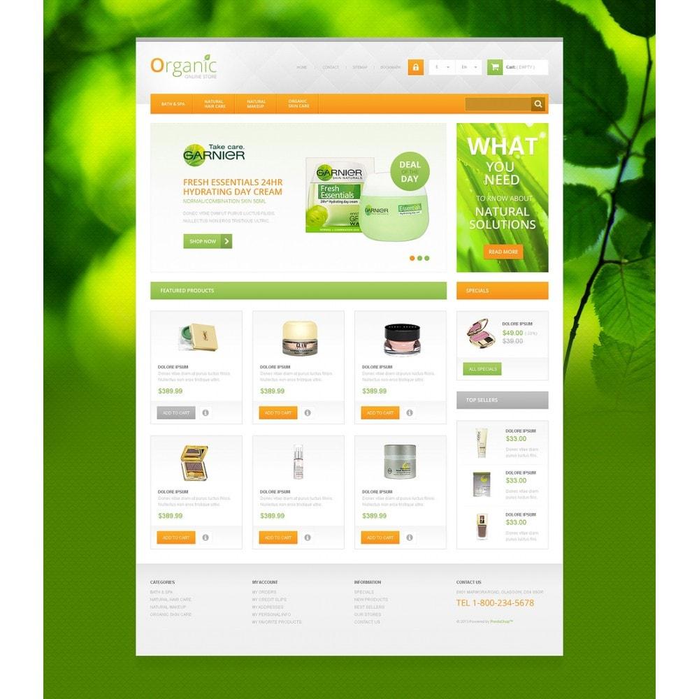 theme - Mode & Schoenen - Organic Cosmetics Store - 2
