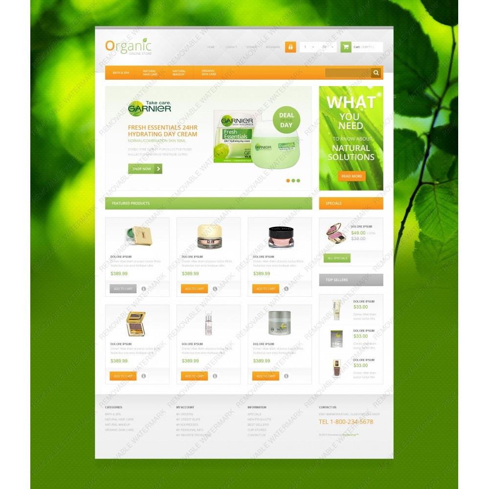 theme - Mode & Schoenen - Organic Cosmetics Store - 3