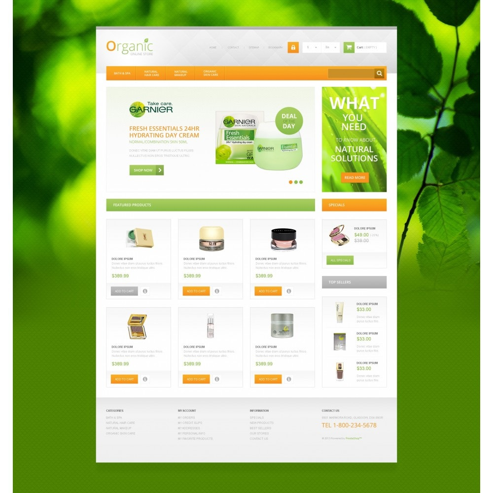 theme - Mode & Schoenen - Organic Cosmetics Store - 4