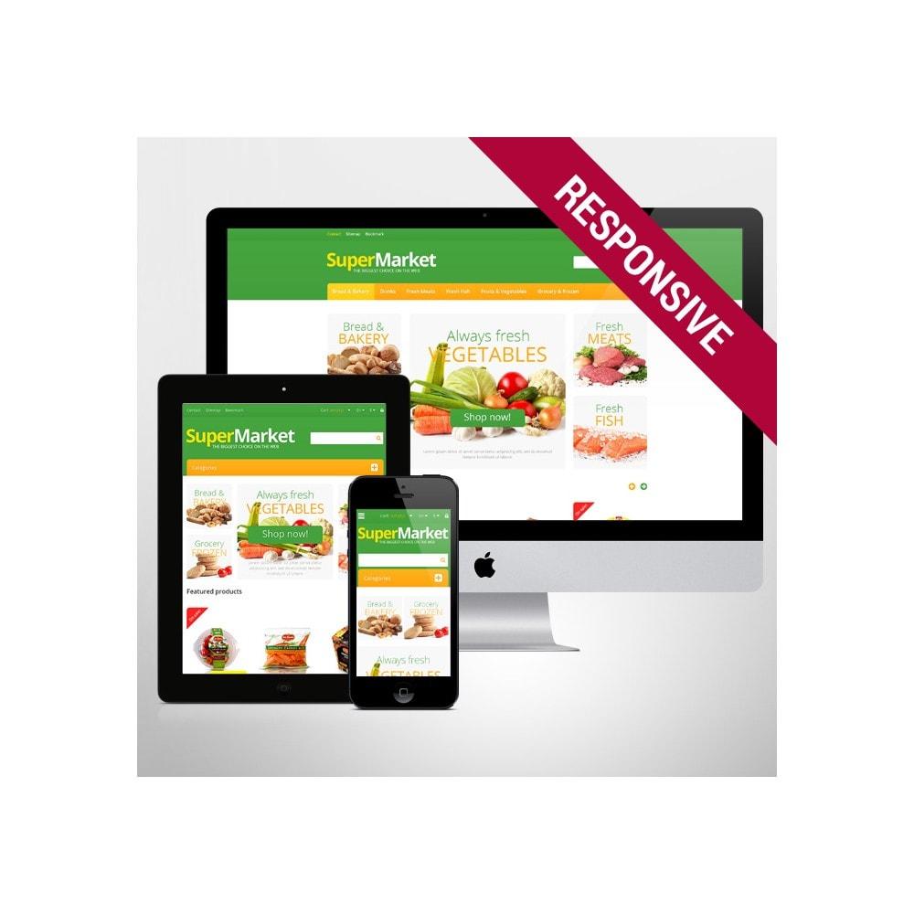theme - Żywność & Restauracje - Responsive Supermarket - 1