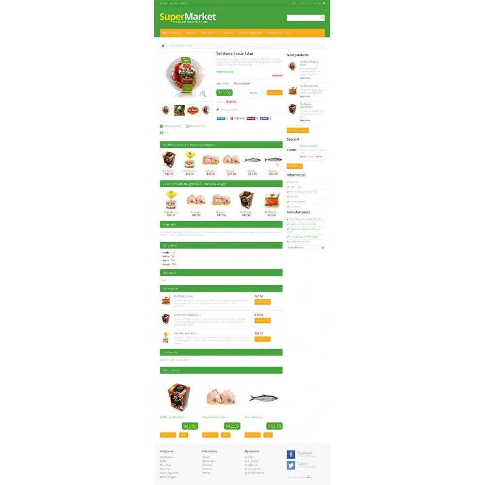 theme - Żywność & Restauracje - Responsive Supermarket - 6