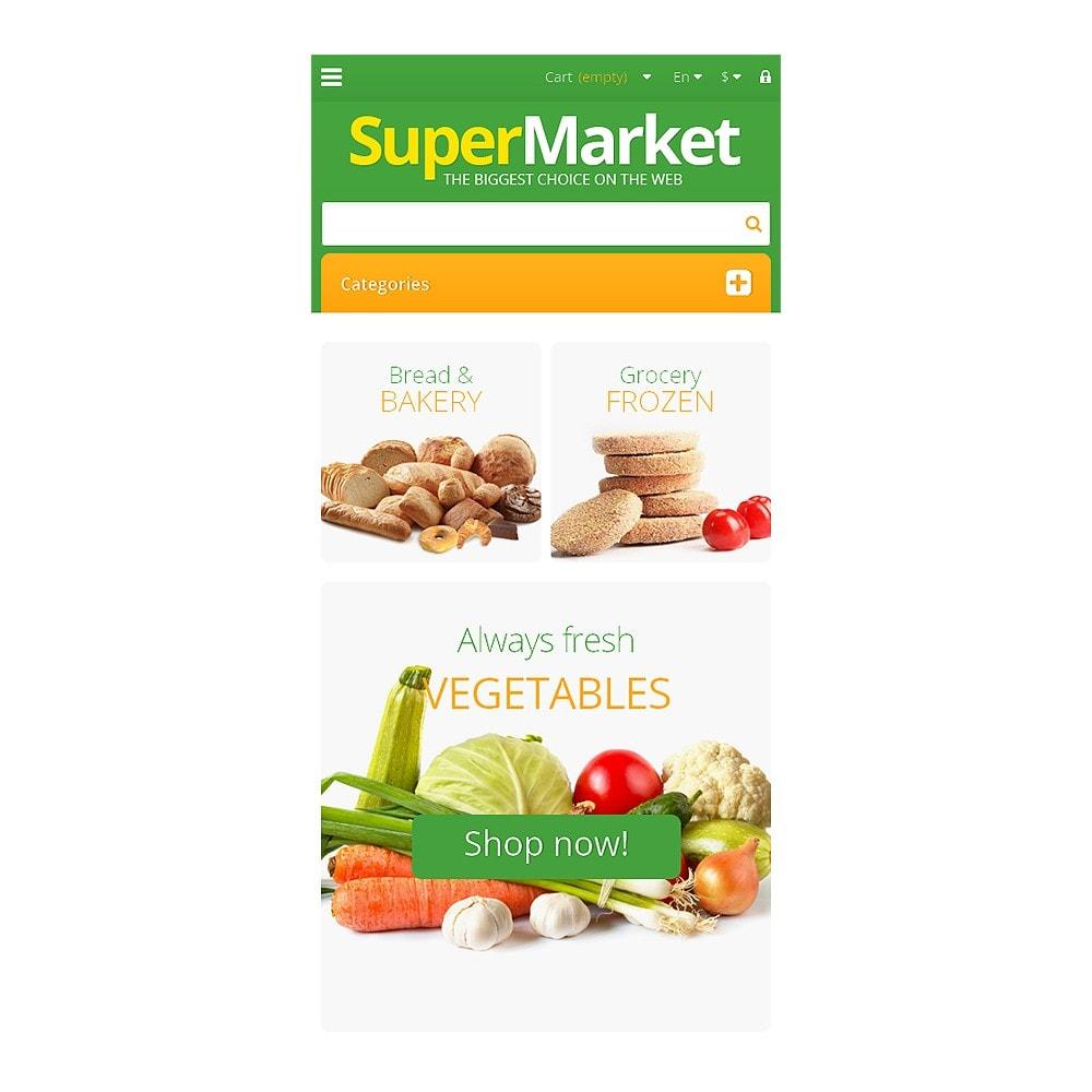 theme - Żywność & Restauracje - Responsive Supermarket - 8