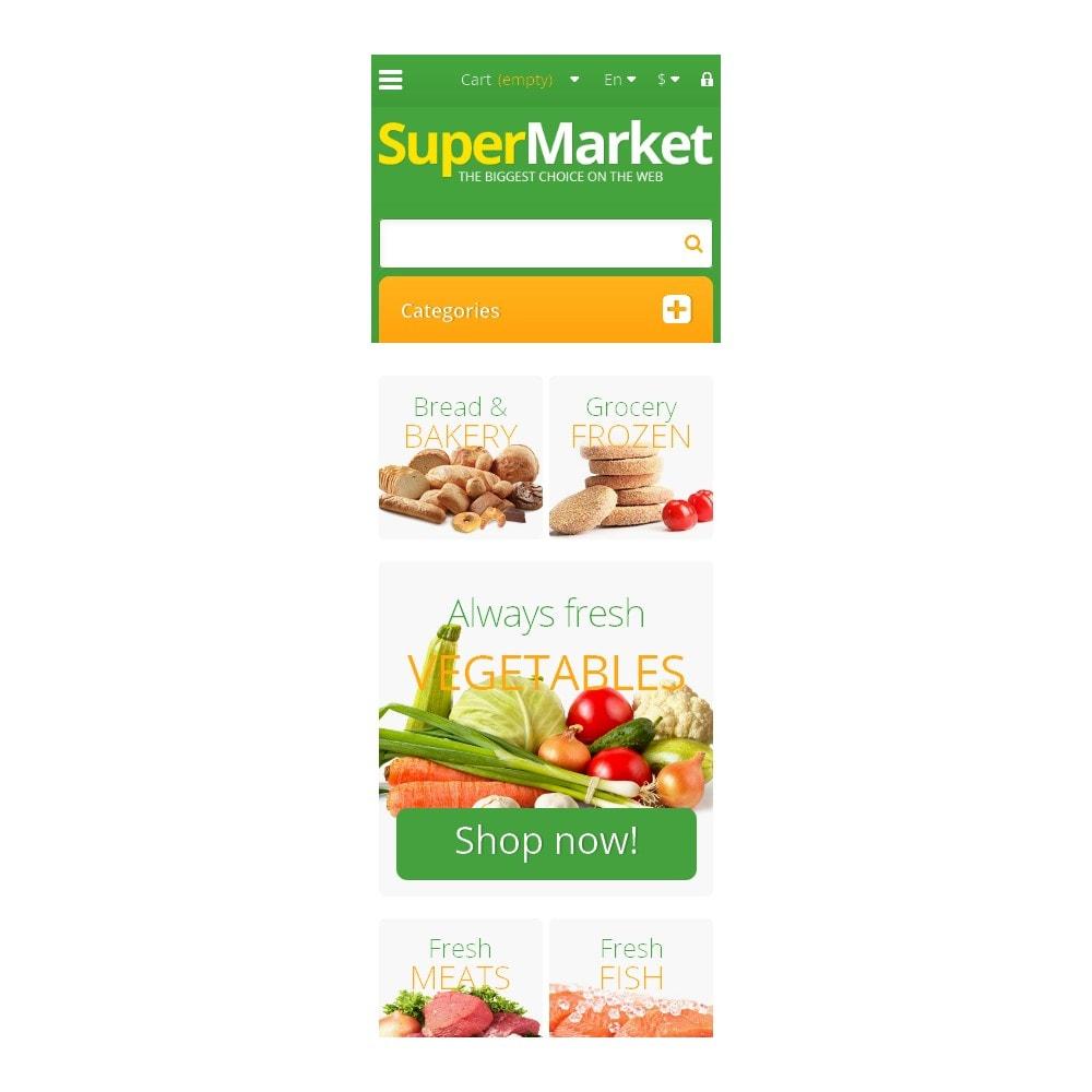 theme - Żywność & Restauracje - Responsive Supermarket - 9