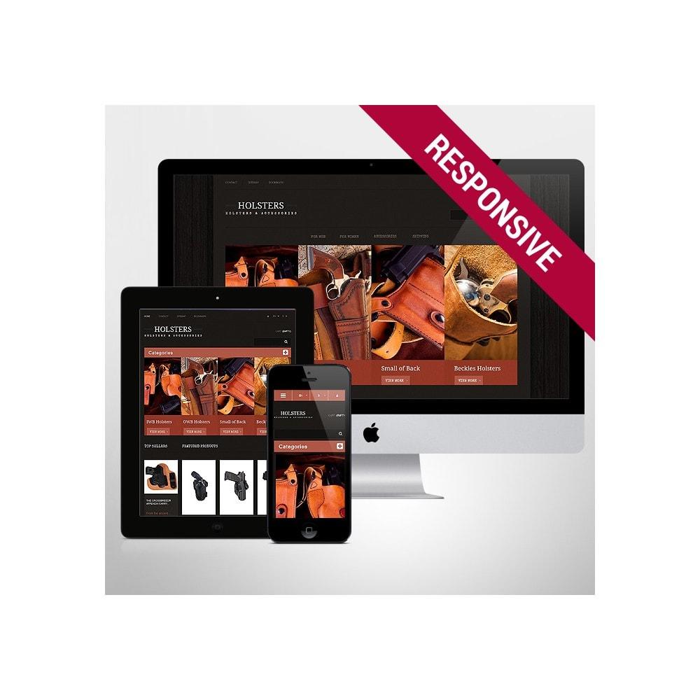 theme - Template PrestaShop - Responsive Holsters Store - 1