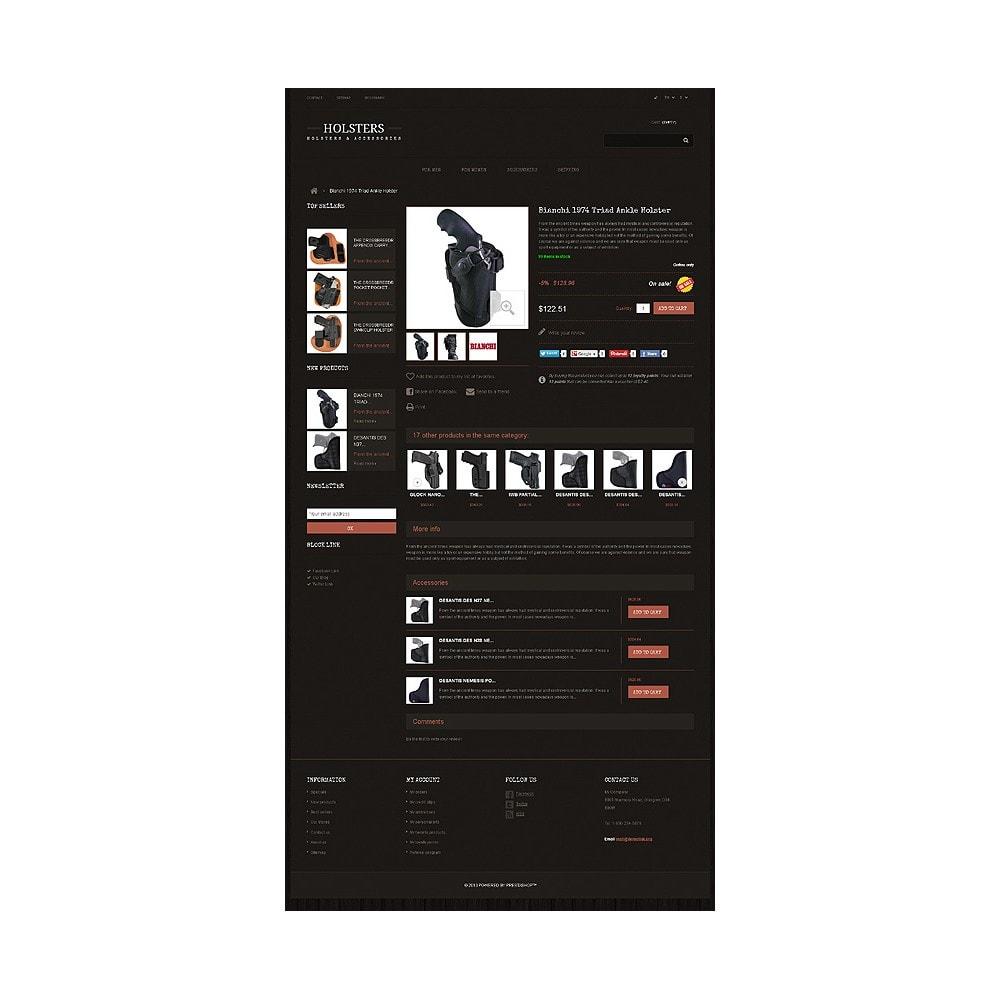 theme - Template PrestaShop - Responsive Holsters Store - 6