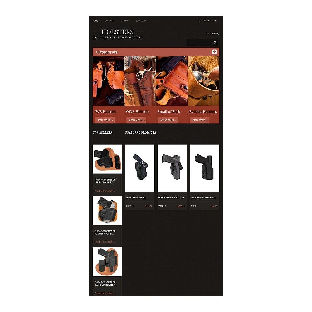 theme - Template PrestaShop - Responsive Holsters Store - 7