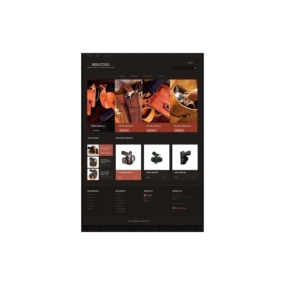 theme - Template PrestaShop - Responsive Holsters Store - 10
