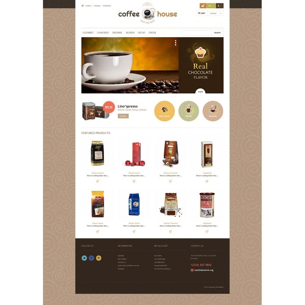 theme - Żywność & Restauracje - Coffee House - 2