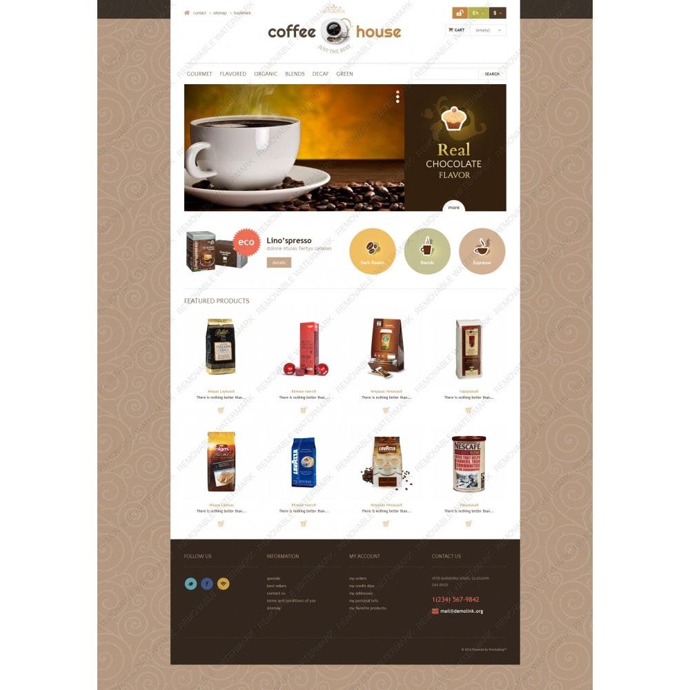 theme - Żywność & Restauracje - Coffee House - 3