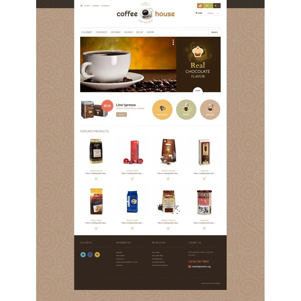 theme - Żywność & Restauracje - Coffee House - 4