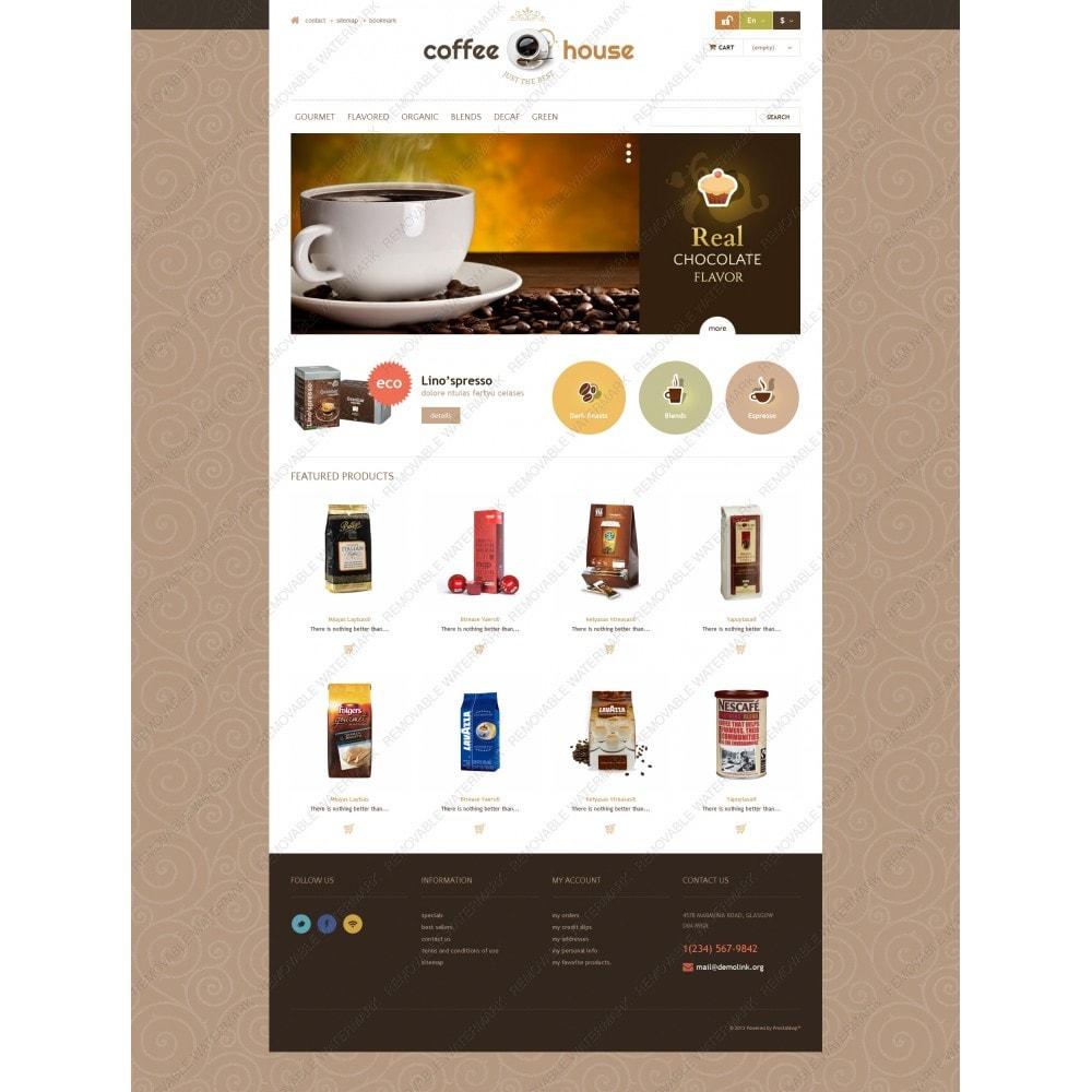 theme - Żywność & Restauracje - Coffee House - 5