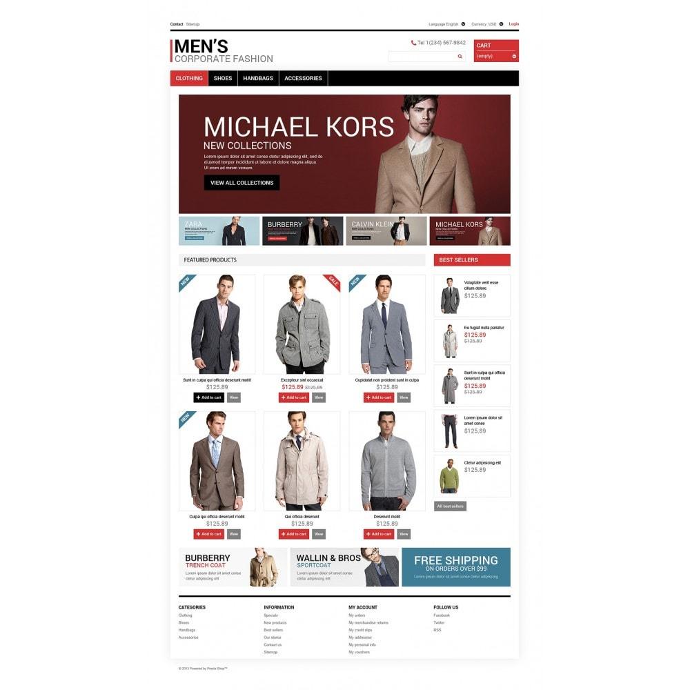 theme - Mode & Schoenen - Men's Corporate Style - 2