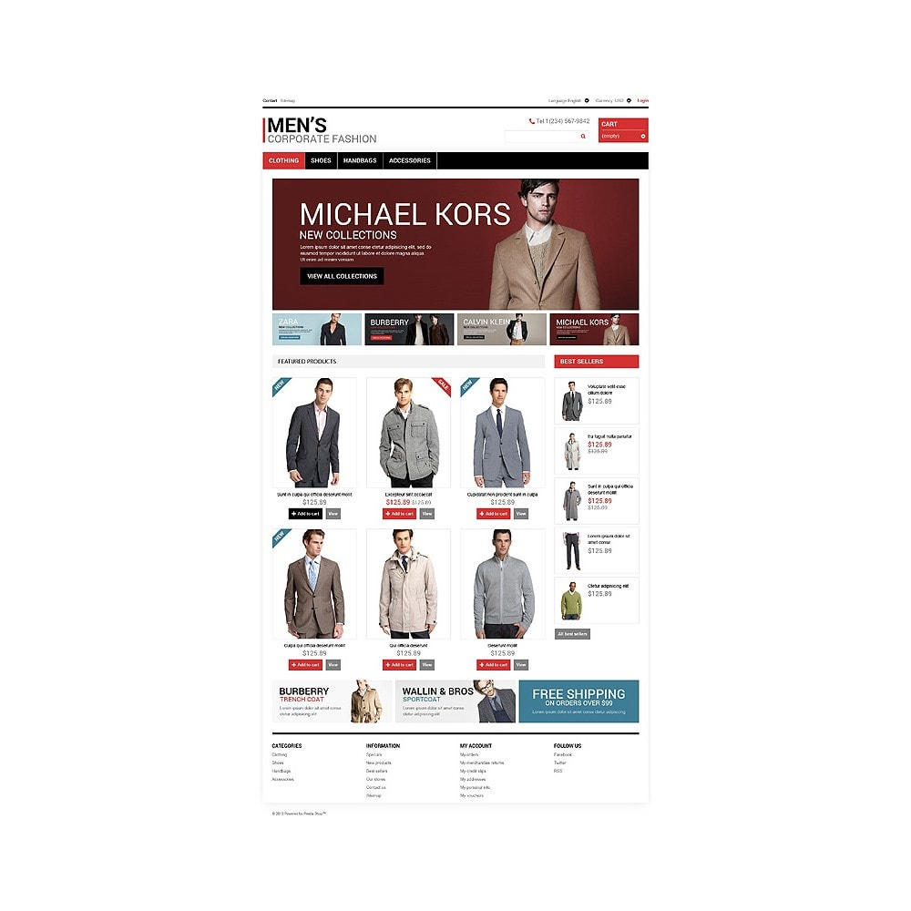 theme - Mode & Schoenen - Men's Corporate Style - 10
