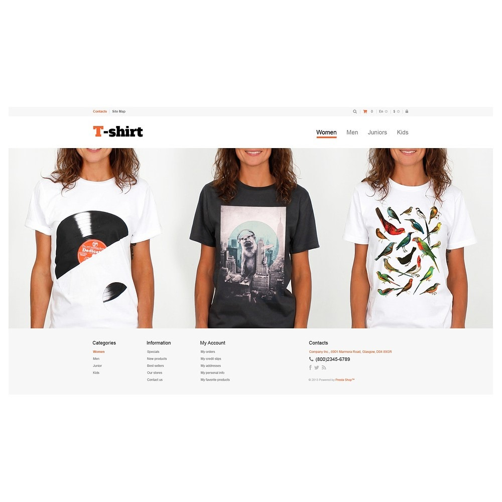 theme - Moda & Calzature - Multipurpose TShirts - 2
