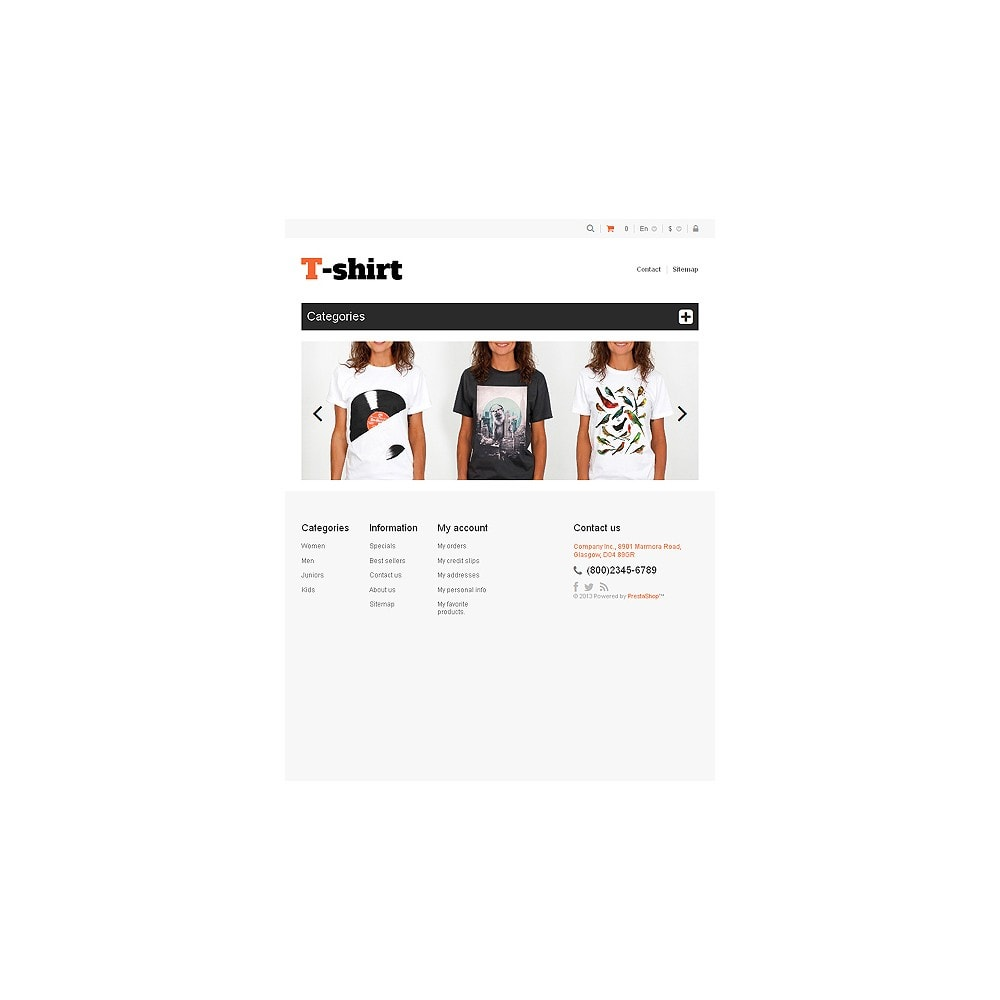theme - Moda & Calzature - Multipurpose TShirts - 7