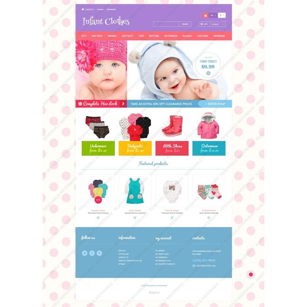 theme - Casa & Jardins - Infant Clothes - 3