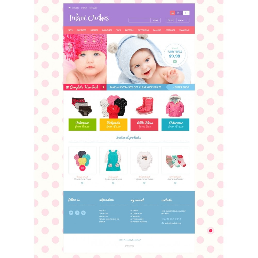 theme - Casa & Jardins - Infant Clothes - 4
