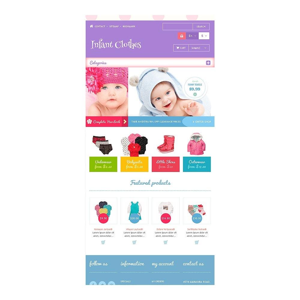 theme - Casa & Jardins - Infant Clothes - 7