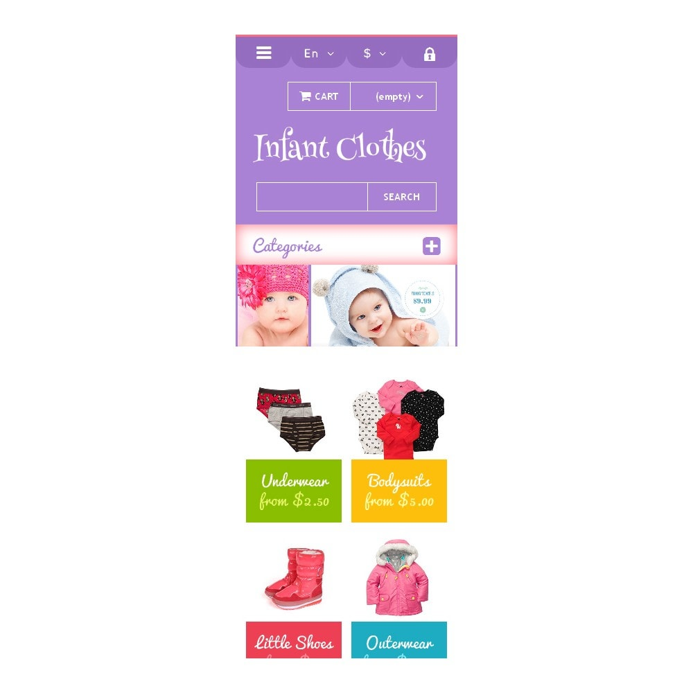 theme - Casa & Jardins - Infant Clothes - 9