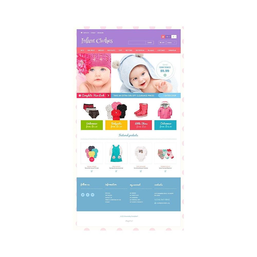 theme - Casa & Jardins - Infant Clothes - 10