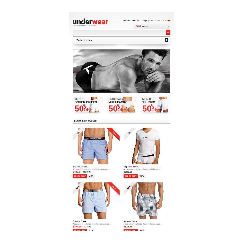 theme - Fashion & Shoes - Men's Underwear - 7