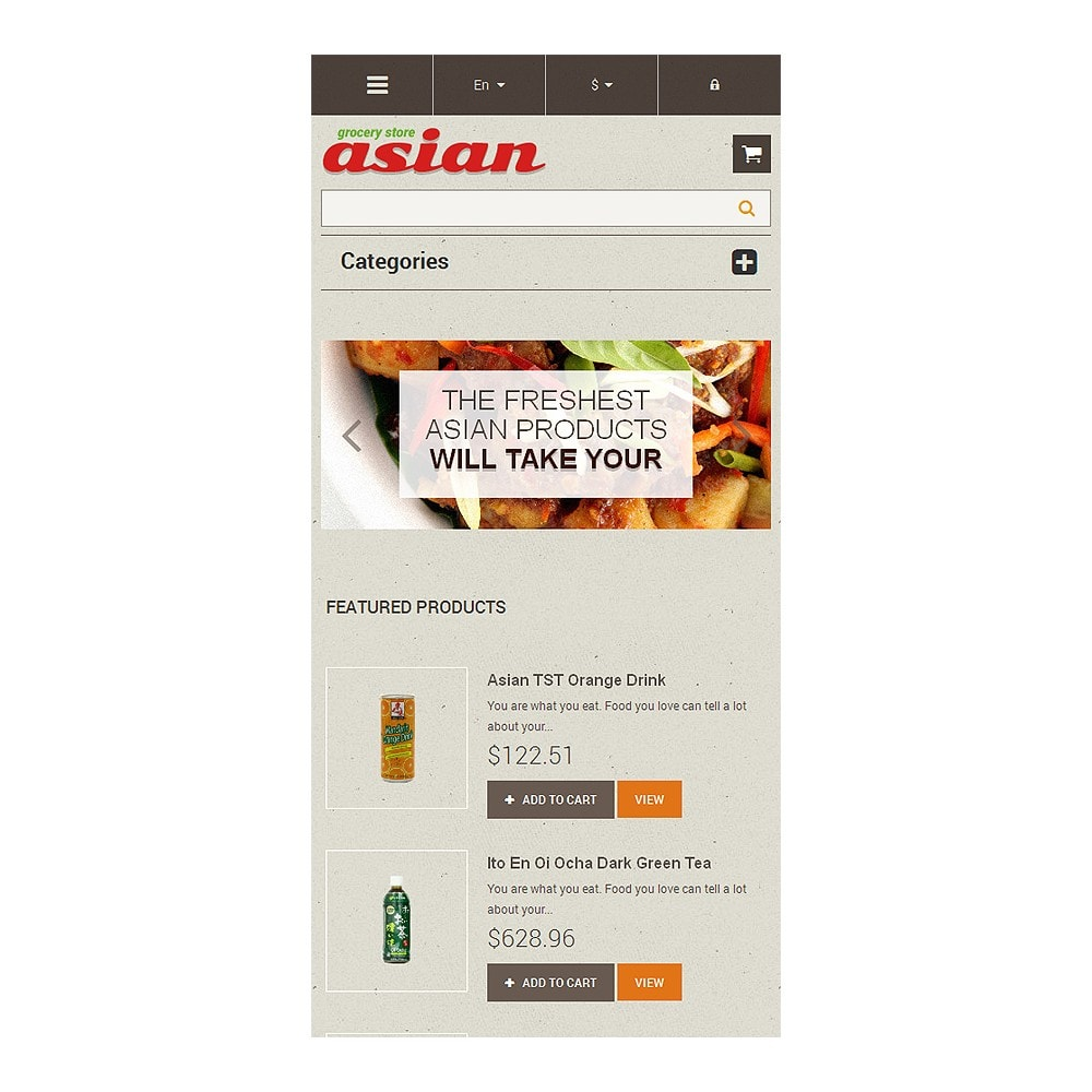 theme - Alimentation & Restauration - Asian Grocery - 8