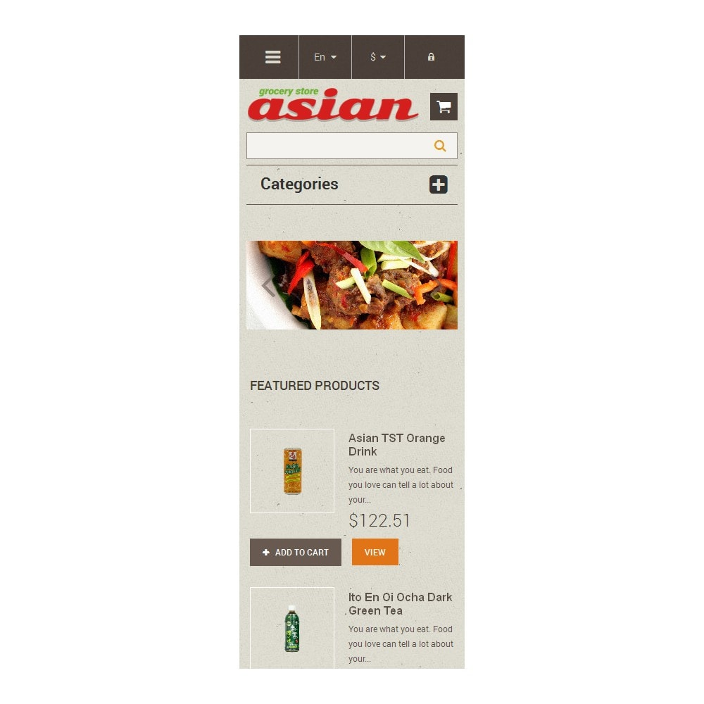 theme - Alimentation & Restauration - Asian Grocery - 9