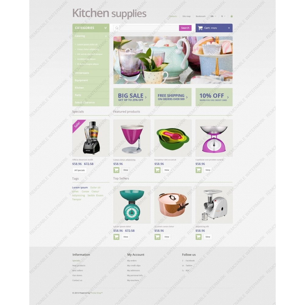 theme - Art & Culture - Online Grocery Store - 3
