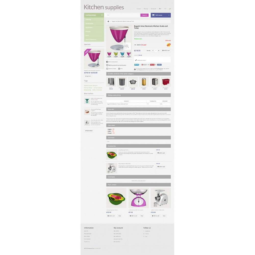 theme - Art & Culture - Online Grocery Store - 6