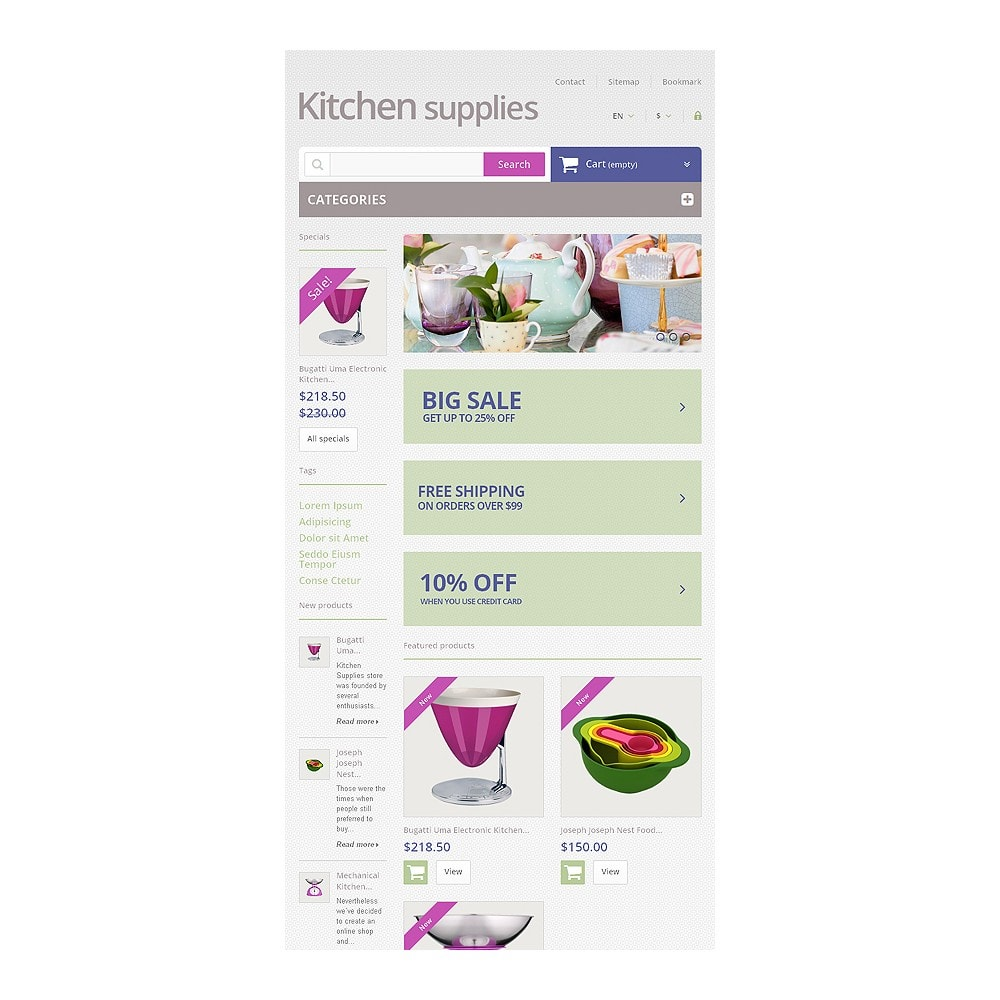 theme - Art & Culture - Online Grocery Store - 7