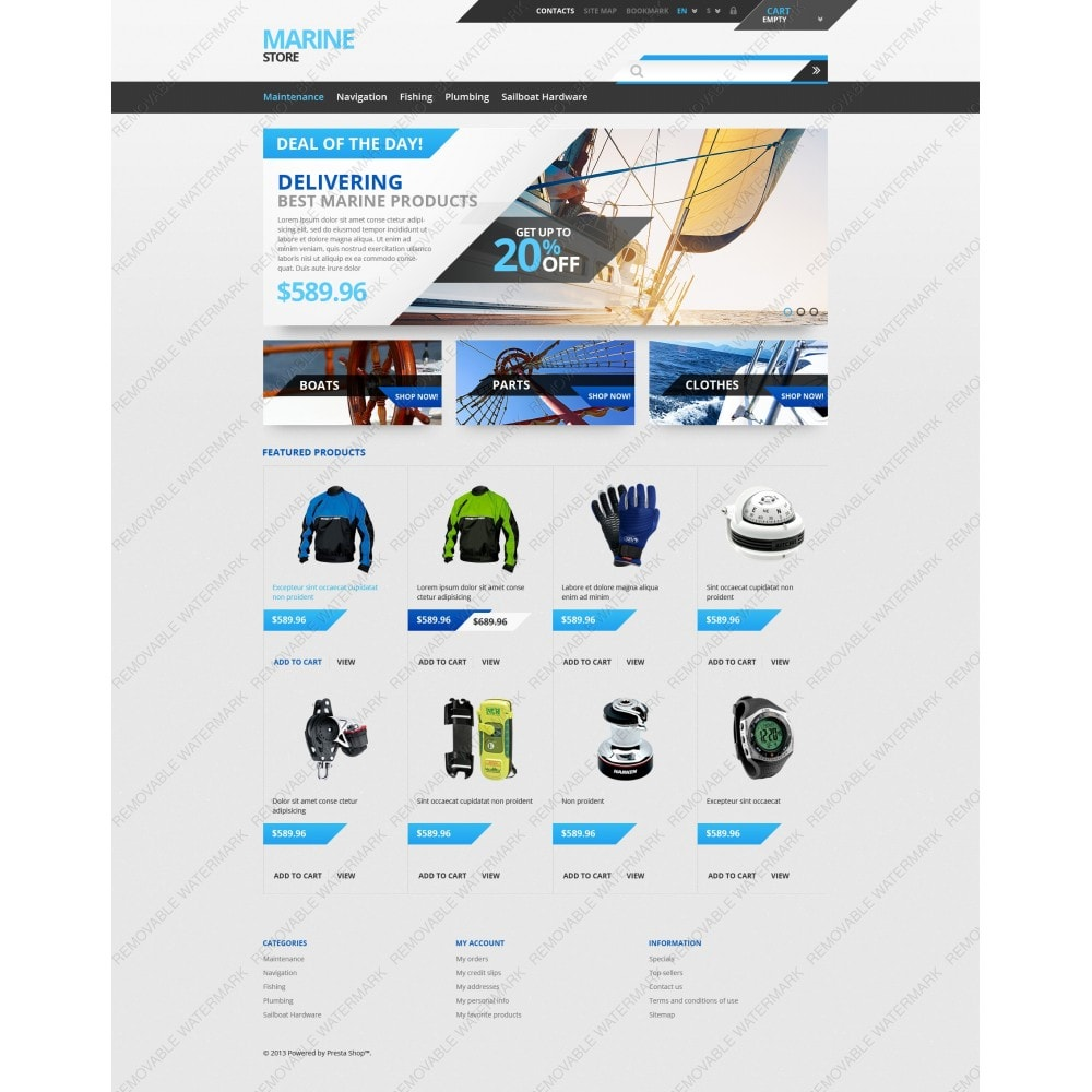 theme - Sport, Loisirs & Voyage - Tech  Gear - 3