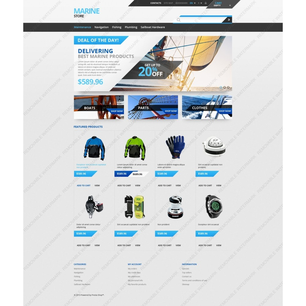 theme - Sport, Loisirs & Voyage - Tech  Gear - 5