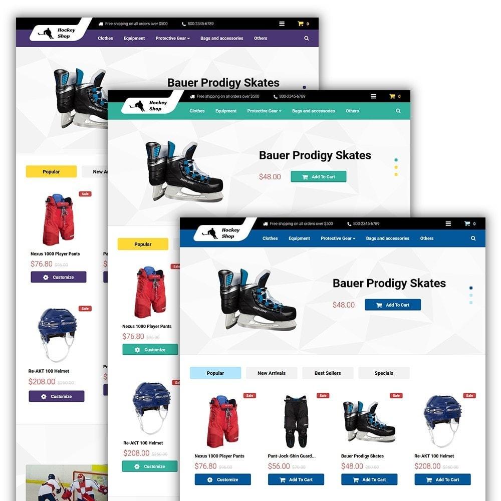 theme - Спорт и Путешествия - Hockey Shop - 2