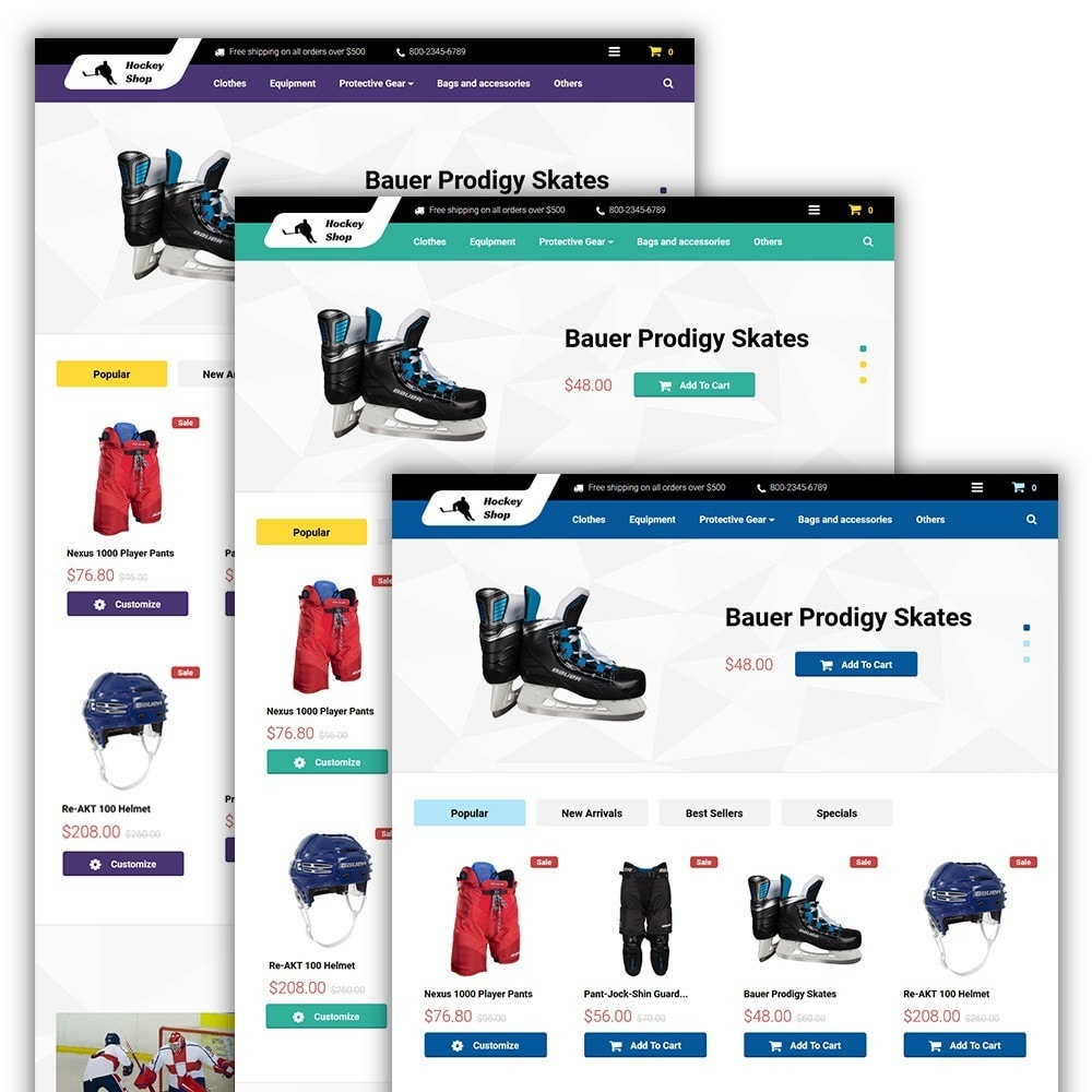 theme - Sport, Attività & Viaggi - Hockey Shop - 2