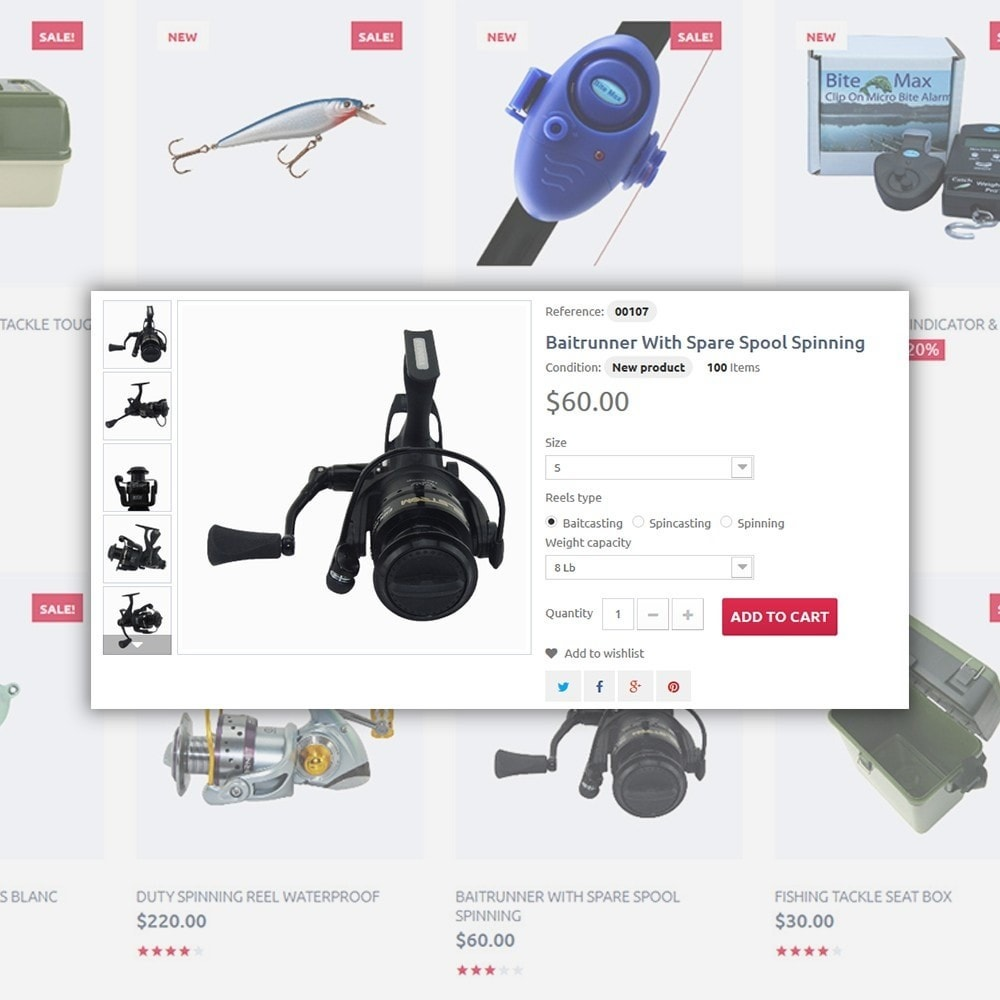 theme - Sport, Loisirs & Voyage - Fishing Store - The Biggest Choice On The Web - 5