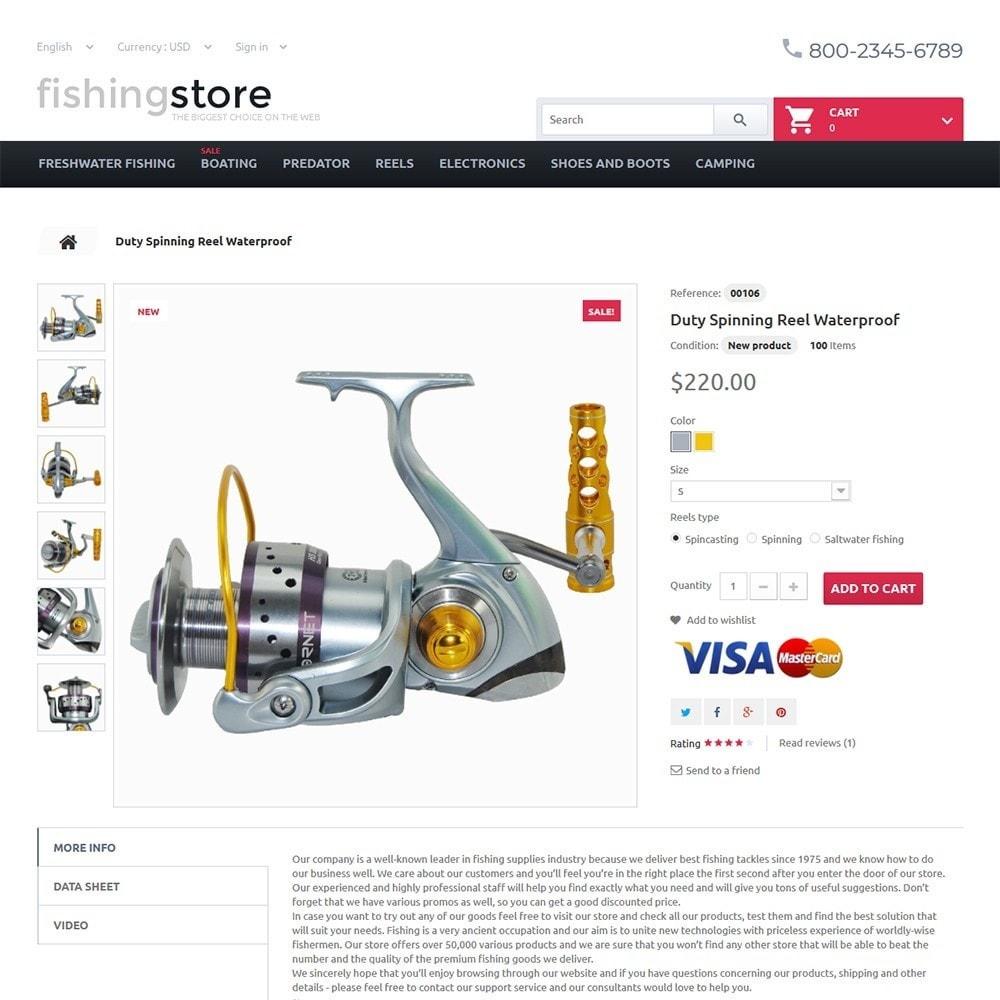 theme - Sport, Attività & Viaggi - Fishing Store - The Biggest Choice On The Web - 3