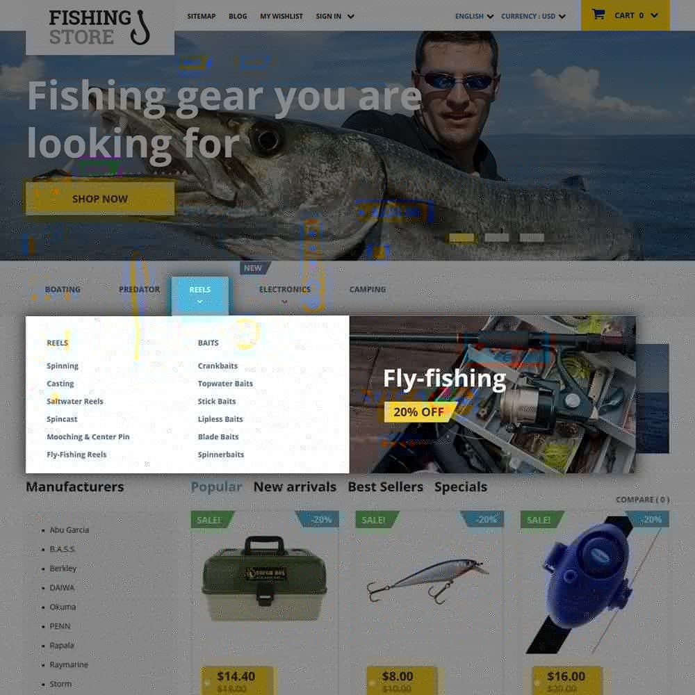 theme - Sport, Loisirs & Voyage - Fishing Store - 5